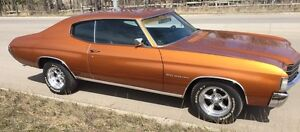 1972 CHEVELLE MALIBU! ONLY 65,000 MILES!