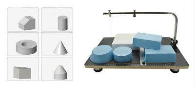 110v Wire Foam Cutter Foam Cutting Table Foam Slitting Machine 3858cm 30w Us