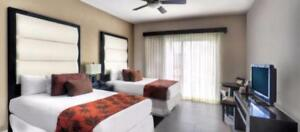 1 Bedroom Hotel Room ( 2 double or 1 King ) - In the GORGEOUS AZUL BEACH RESORT The Fives - Playa del Carmen, Mexico