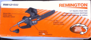 12 inch Remington electric chainsaw