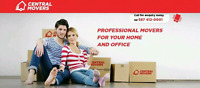 CENTRAL MOVERS PROVIDES AFFORDABLE MOVING STARTING AT $60/hr