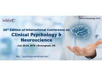 Psychology Conferences | Neuroscience Conferences