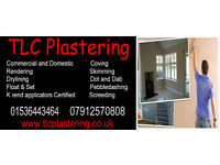 TLC Plastering for all your plastering needs in the northamptonshire area
