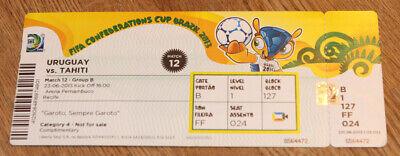 old ticket  FIFA/Confederations Cup 2013 Uruguay Tahiti in Recife no 12 comprar usado  Enviando para Brazil
