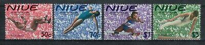 Niue Scott 748 - 751 in MNH Condition