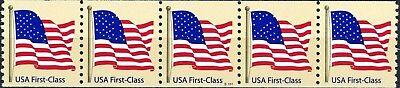 Us Flag On Tan Non Denominated W A Type Pnc5 Pl S1111 Mnh Scotts 4131   S