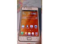 Samsung Galaxy S2 - cracked screen