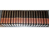 Beautiful Encyclopaedia Britannica collection (19 books) and accompanying index books (10 books)