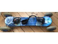 Fantastic condition, almost new Kheo Air-X landboard!