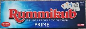 Rummikub Prime Family Game - Brand New Sealed