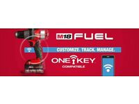 Milwaukee ONE KEY technology now available! Drills, impact driver, impact wrench, angle grinders