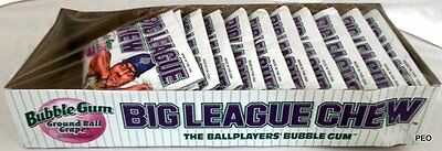 Big League Chew Groundball Grape Gum Free Ship Candy Candies Grapes Bubble Bulk