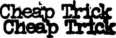 Cheap Trick Decal Sticker Free Shipping - Cheap Stickers