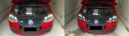 clear vision headlight restoration FROM $60 A PAIR