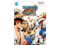 Wii Game Tatsunoko VS Capcom Ultimate All-Stars - Rare game