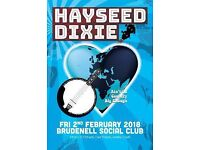 Hayseed Dixie @ The Brudenell - 4 tickets (2nd Feb)