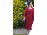 Ann Barton Mother of the Bride/Groom dress and jacket