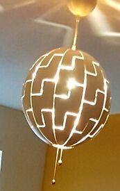 IKEA Globe Lightshade Copper