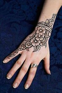 Henna tattoo only for 10 dollars per hand
