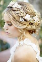 Bridal Hair and Makeup application in the tri-cities
