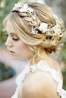 Affordable wedding makeup and hair for bridal parties and more!
