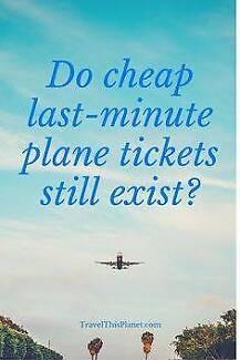 $50 FLIGHT TOMORROW!