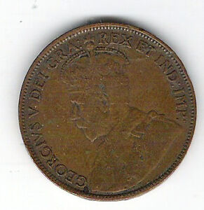 Coin 1919 Canada 1 Cent Penny