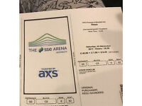 2 Steps tickets, Wembley arena £100