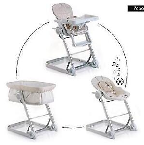 [Bassinet, Bouncer, High chair] 3 in 1