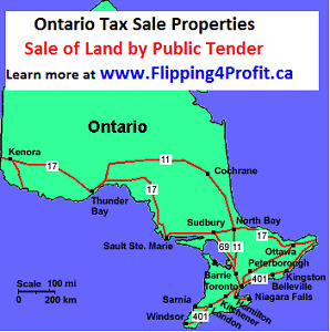 Sale of land by Public Tender, Ottawa – Ontario