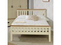 King size oak bed frame.