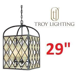 NEW* TL PENDANT LIGHT FIXTURE - 123121194 - TROY LIGHTING 4 LIGHT BRONZE