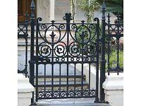 Wanted Original Iron Garden Gate