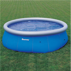 Bestway 8ft clear fast set pool swimming paddling ebay for Bestway pools for sale