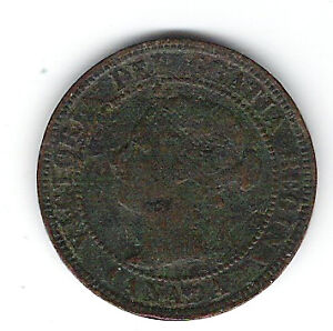Coin 1901 Canada 1 Cent Penny