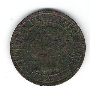 Coin 1901 Canada 1 Cent Penny Kingston Kingston Area image 1