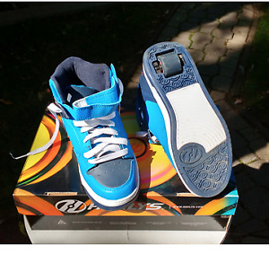 """Never-used pair of boy's  (Size 6) """"Heelys"""""""