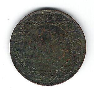 Coin 1901 Canada 1 Cent Penny Kingston Kingston Area image 2