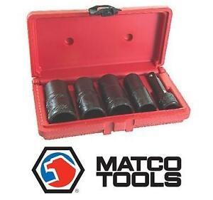NEW MATCO 5PC LOG  LOCK SOCKET SET - 114661689