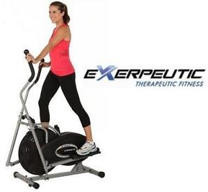 NEW EXERPEUTIC AIR ELLIPTICAL EXERCISE EQUIPMENT FITNESS WORK OUT WORKOUT 106557377