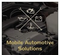 Mobile Automotive Solutions - We go where YOU are!