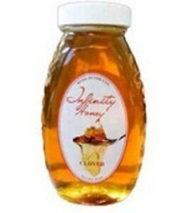 Natural Honey 16 Ounces of Clover Flavor