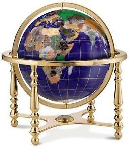 Gemstone globe ebay gemstone globe 13 gumiabroncs Image collections