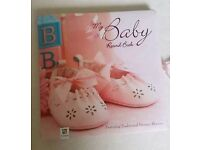 New My baby record book by Hinkler Pink