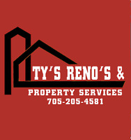 Ty's Reno's & Property Services is expanding!!