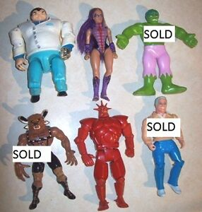 Action Figures Batman, Thundercats, Power Rangers London Ontario image 1