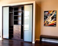 CLOSET DESIGN- supply and install. Garage storage and coatings