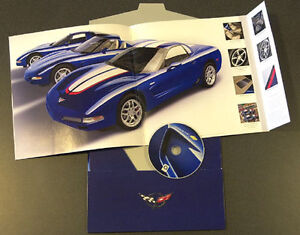 2004 Chevrolet Corvette Sales Brochure Catalog Coupe Convertible