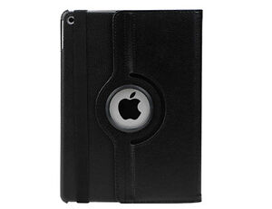 NEW BLACK 360 ROTATING PU LEATHER CASE COVER STAND FOR IPAD AIR Regina Regina Area image 2