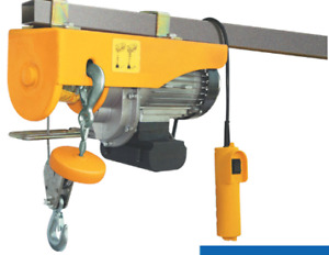 440/880 lb Electric Cable Hoist